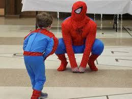 Spiderman Dad